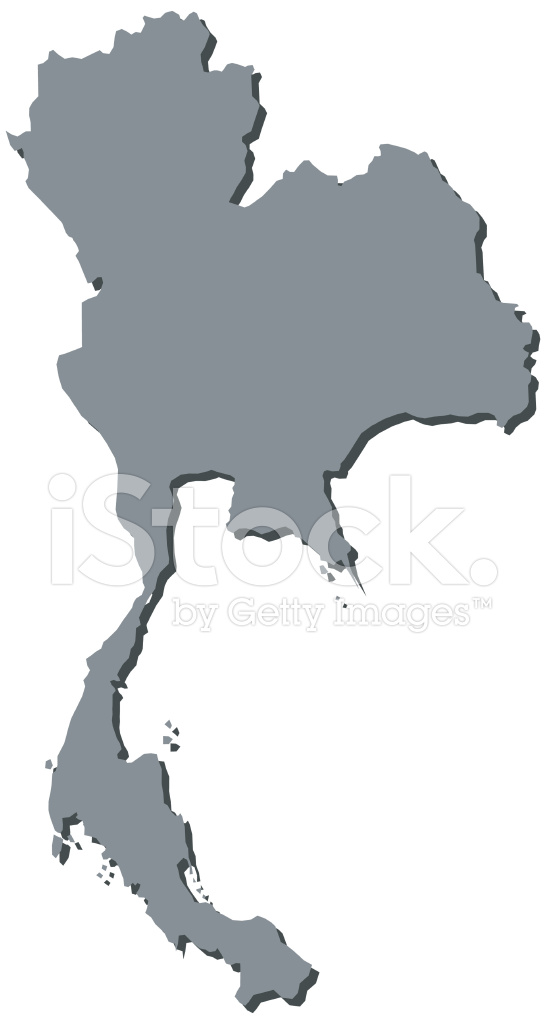 Thailand Map Thai Maps Asia Stock Vector - FreeImages.com