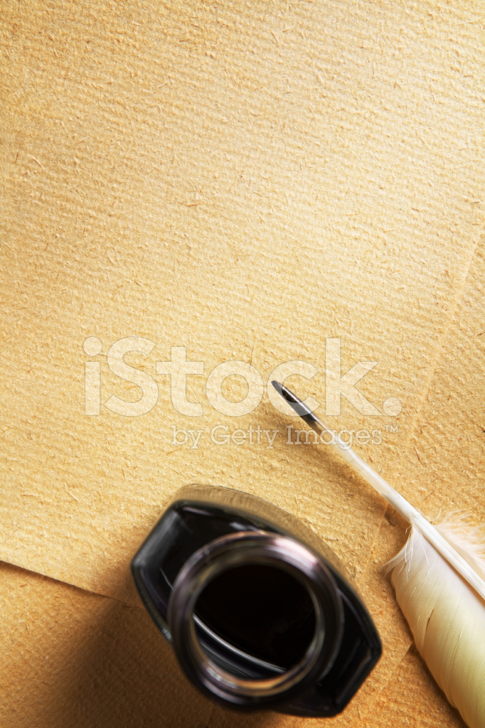 Old Blank Paper and Quill Pen Stock Photos - FreeImages.com