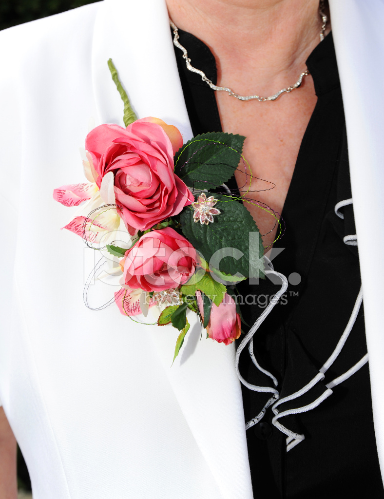 Corsage On Mother Of The Bride Stock Photos Freeimages Com