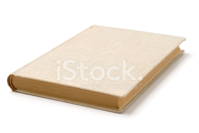 Libro DE Tapa Dura Color Beige En Blanco Fotografías de stock ...