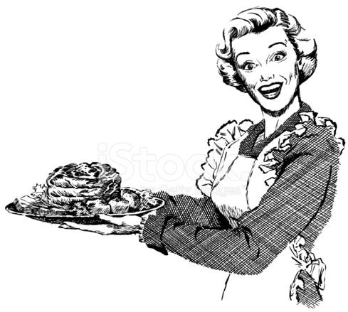 [Image: 9557453-vintage-1950s-woman-serving-dinner.jpg]