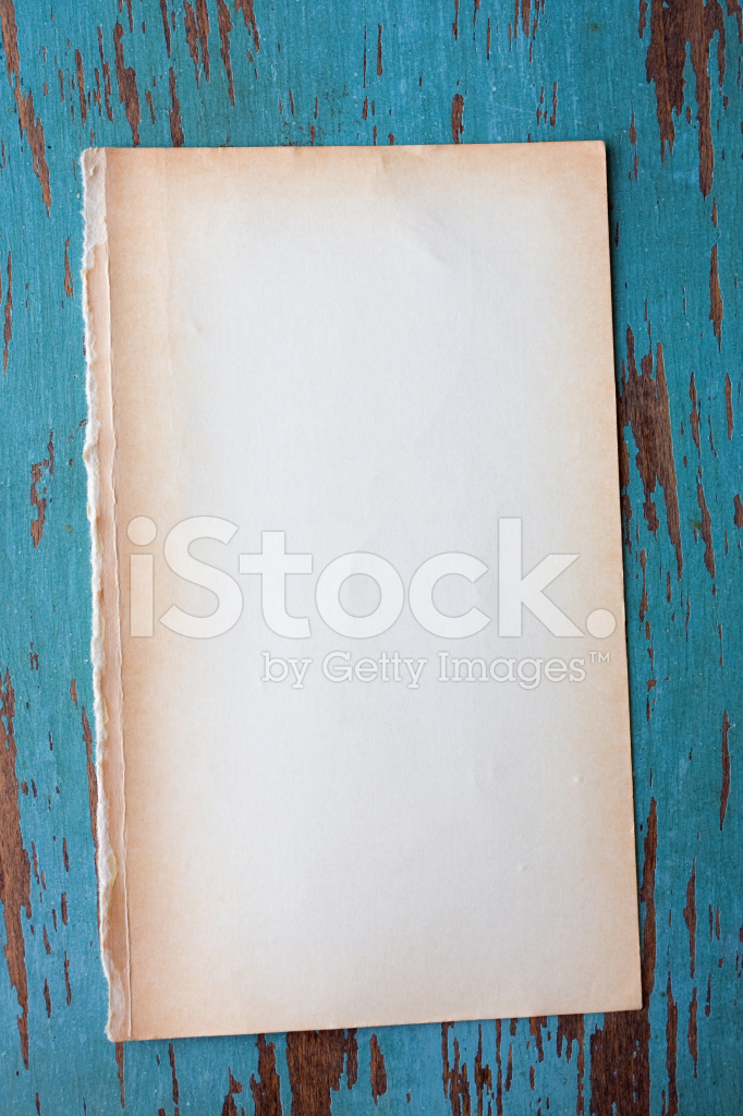 Blank Grungy Paper Background  Blank Paper Background