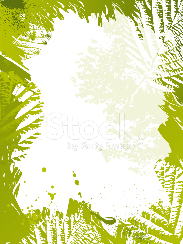 green nature frame with leaves stock vector freeimages com green nature frame with leaves stock