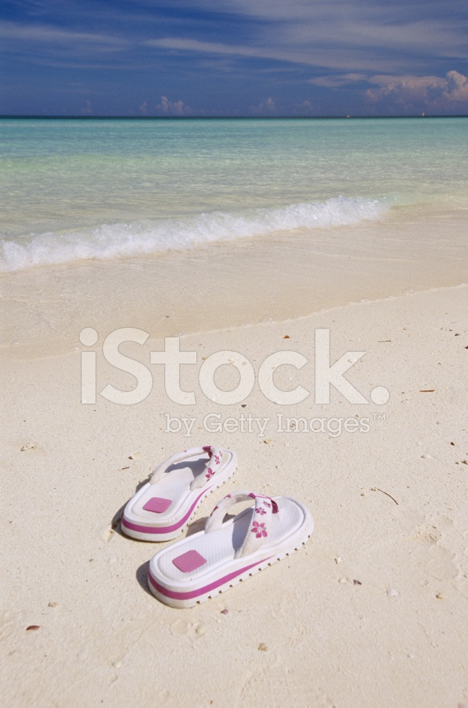 525c6272d1a8 Flip Flops AM Strand Stockfotos - FreeImages.com
