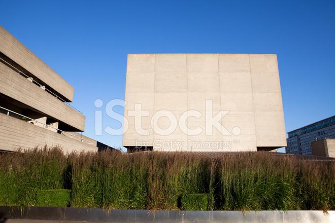 Moderne Beton Architektur Stockfotos
