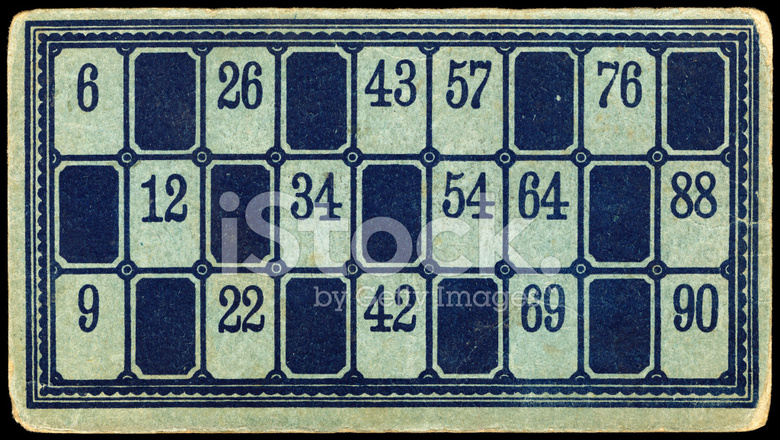 Old Lotto Card Stock Photos Freeimages Com