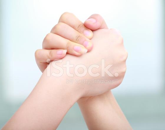 Hands holding together images for Ohrensessel 2 hand