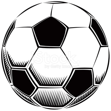 soccer ball vector illustration stock vector freeimages com rh freeimages com soccer ball vector art free soccer ball vector drawing