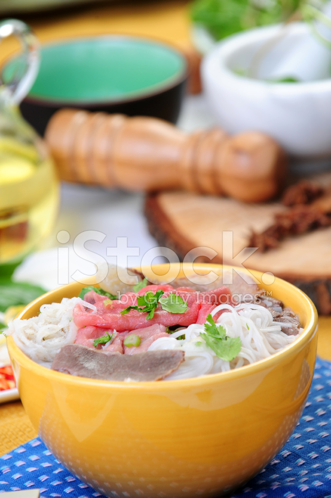 Vietnamese Food Calls Pho Tai Stock Photos - FreeImages com