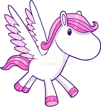 Cute Pegasus Vector Stock Photos Freeimages Com