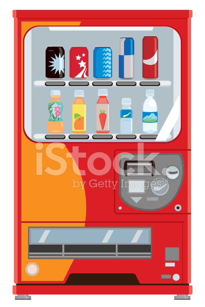 Designs On Vending Machine For Soft Drink