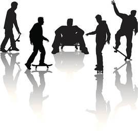 0edb0f60600 Skater Boy Stock Vector - FreeImages.com