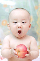 Baby,Eating,Asian Ethnicity...