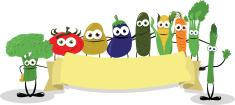 Vegetable,Cartoon,Healthy E...