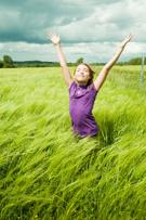 Child,Breathing Exercise,Wi...
