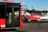Bus,Coach Bus,People,Car,Tr...
