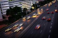 Highway,Blurred Motion,Traf...
