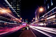City,Night,Street,Street Li...