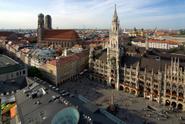 Munich,Marienplatz,Urban Sk...