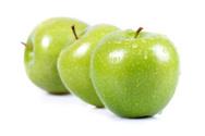 Apple - Fruit,Green Color,G...