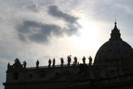 Vatican,Rome - Italy,Silhou...