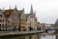 Ghent,Belgium,Medieval,Brid...