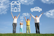 Dreamlike,Car,Family,House,...