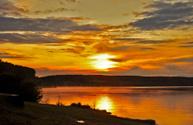 Sunset Lake,Lake,Background...