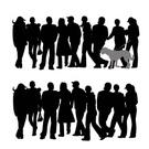 Silhouette,People,Teenager,...