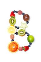 Vitamin B,Fruit,Alphabet,Fo...