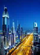 Dubai,City,Futuristic,Night...