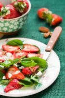 Salad,Strawberry,Spinach,Ch...