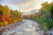 Autumn,Landscape,River,Moun...