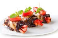Eggplant,Rolled Up,Vegetari...