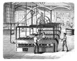 industrialization,Etching,C...