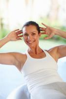 Exercising,Women,Yoga,Matur...