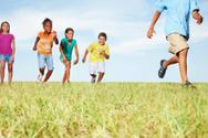 Child,Running,Lifestyles,Pl...
