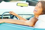 Car,Women,Driving,Convertib...