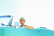 Convertible,Car,Driving,Men...