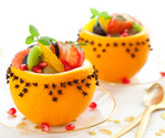 Salad,Fruit,Christmas,Gourm...