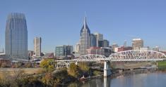 Nashville,Urban Skyline,Pan...