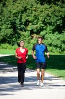 Jogging,Running,Couple,Coac...