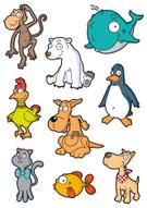Cartoon,Dog,Domestic Cat,Be...