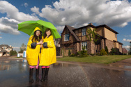 Rain,Family,House,Home Inte...