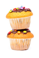 Cupcake,Muffin,Cake,Two Obj...