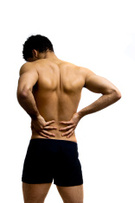 Men,Back,Rear View,Pain,Exe...