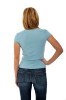 Rear View,Women,Standing,T-...
