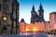 Prague,Czech Republic,Town ...