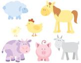 Animal,Horse,Cartoon,Farm,C...