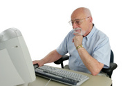 Senior Adult,Computer,Learn...
